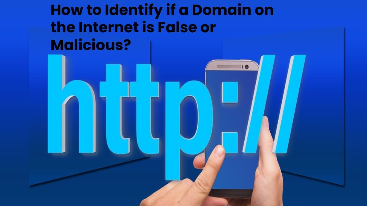 How to Identify if a Domain on the Internet is False or Malicious?