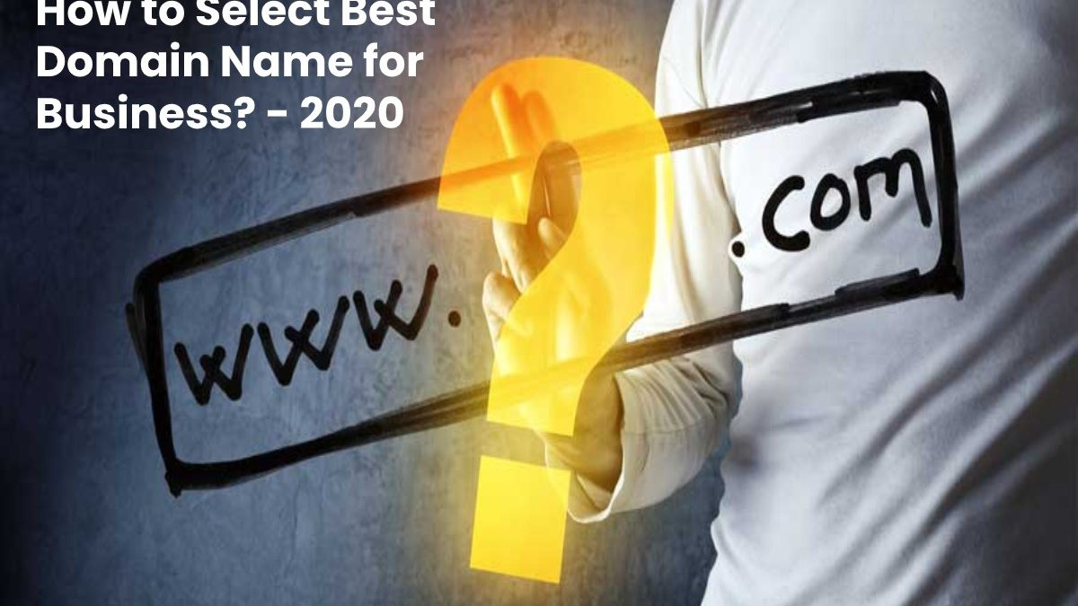 How to Select Best Domain Name for Business?