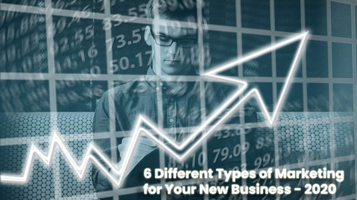 6 Different Types of Marketing for Your New Business