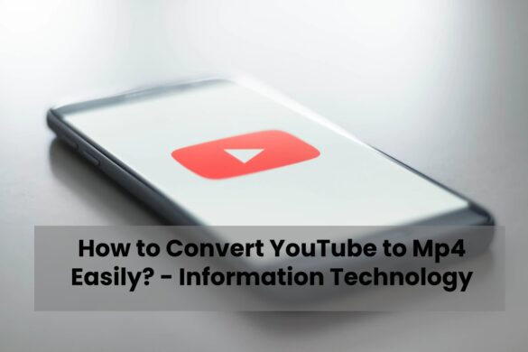 HOW TO CONVERT YOUTUBE TO MP4 EASILY