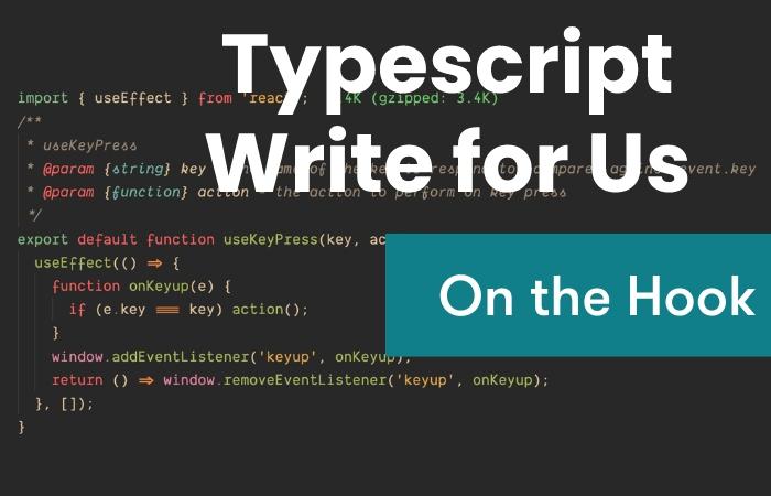 typescript write for us
