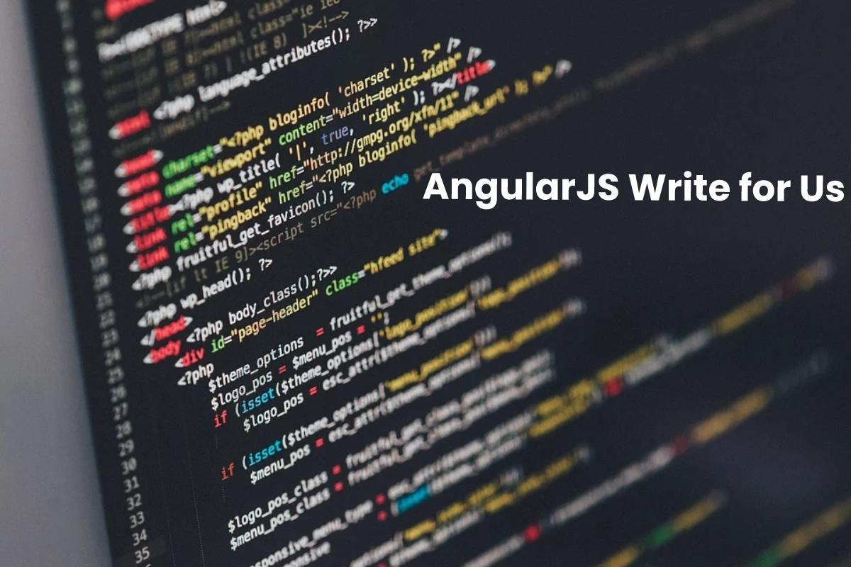 AngularJS Write for Us