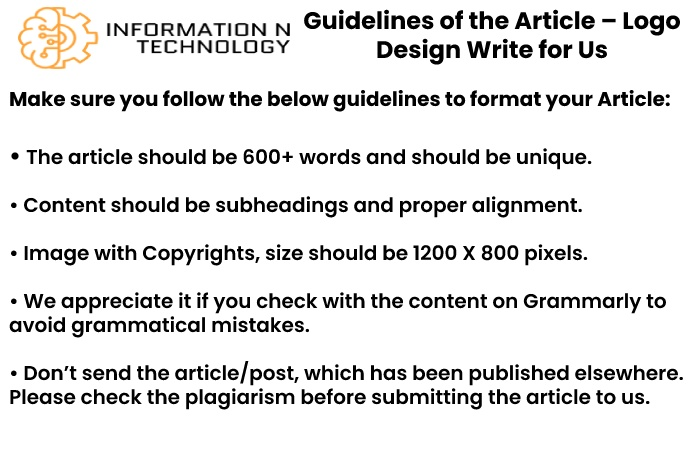 guidelines for the article informationntechnology - Logo Design Write for Us